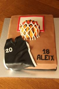 Torta para Aleix, 18 años