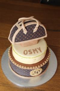Torta para Osmy. 30 Cumpleaños