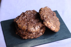 Ricas galletas de doble Chocolate!