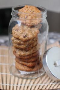 Buenísimas galletas de Avena y Pasas!