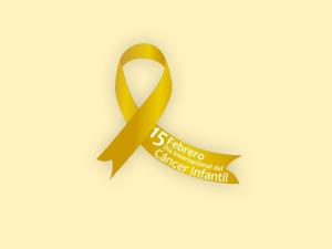 logo cáncer infantil