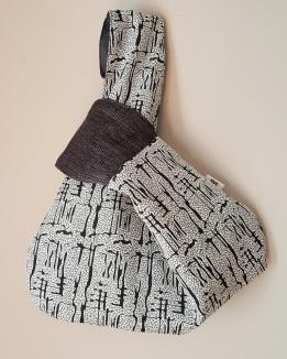 Bolso Knot japones cuarteado by Sak Bags & Crafts