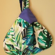 Bolso Knot Japones Tropical by Sak Bags & Crafts